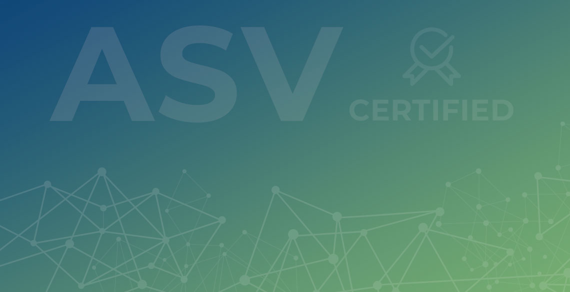 Advantio is ASVcertified by PCI SSC