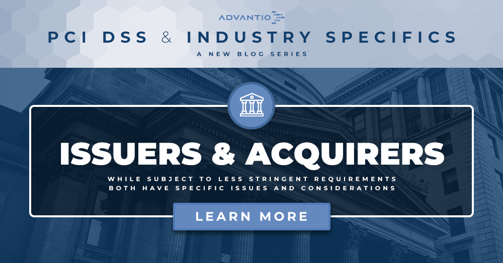 PCI DSS and industry specifics: Issuers and Acquirers