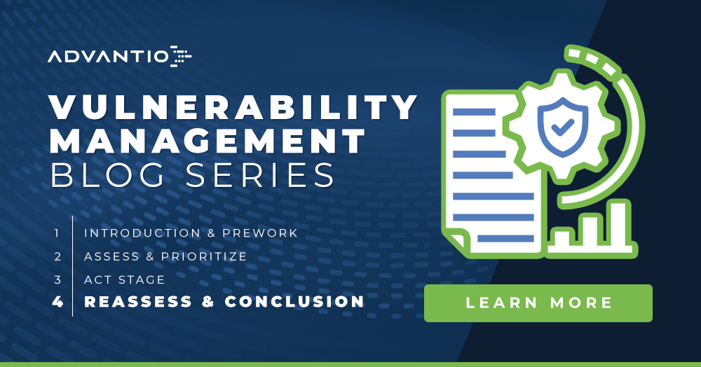 Vulnerability Management: Reassess & Conclusion
