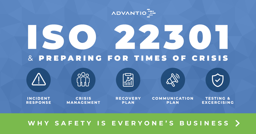 Safety is everyone's business. ISO 22301 standard analysis