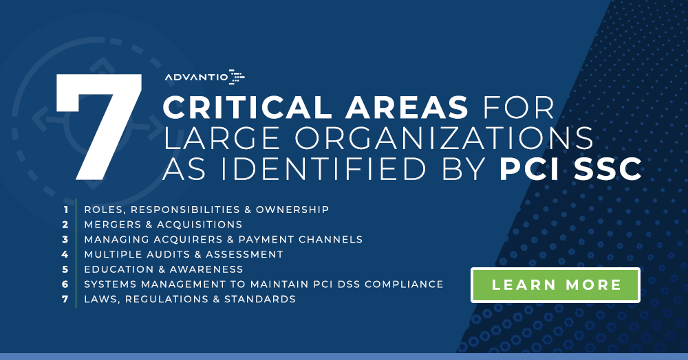 7 critical areas in PCI DSS