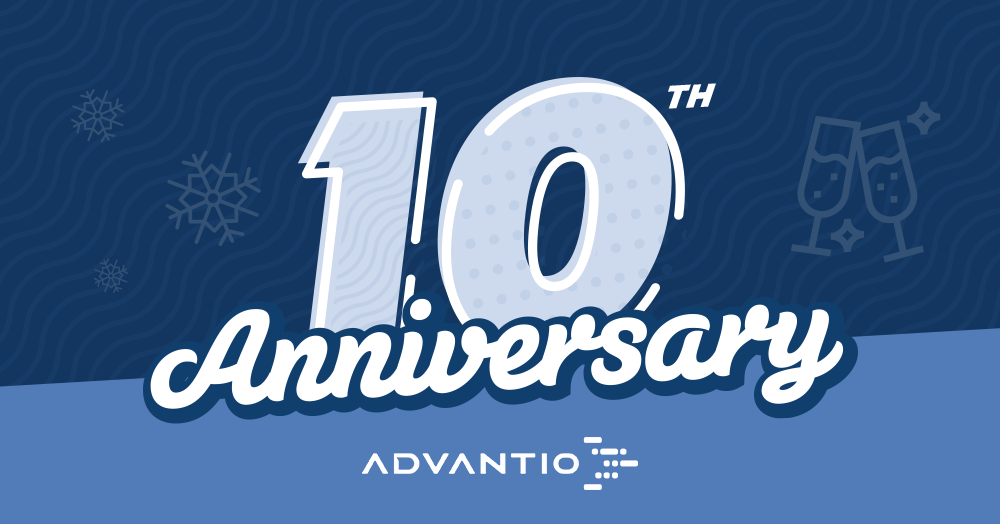 Advantio is proud to announce its 10th anniversary as a leading cyber security consulting company