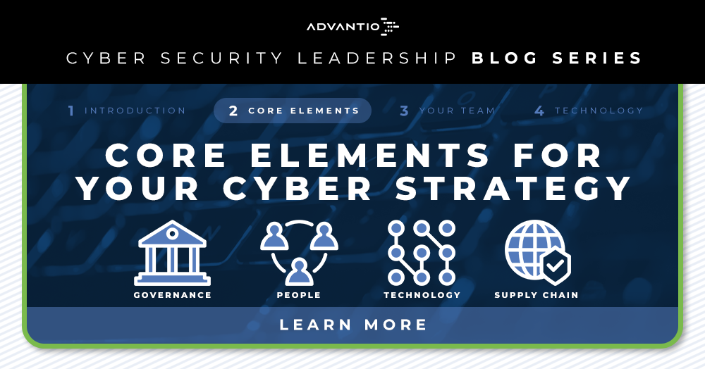 Core Elements for your Cyber Strategy