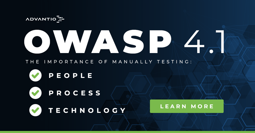 OWASP 4.1: the importance of manual testing