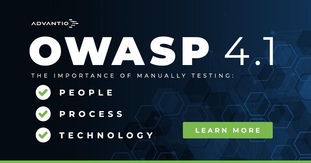 OWASP 4.1: the importance of manual testing
