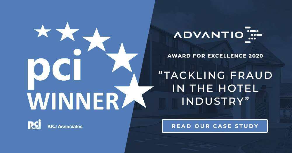 Advantio wins PCI Award of Excellence as a recognized cyber security provider