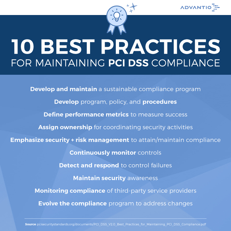 Best Practices for Maintaining PCI DSS Compliance - Advantio